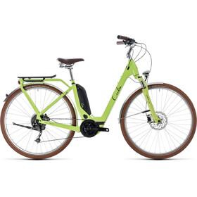 Cube Elly Ride Hybrid 400 Elcykel City Easy Entry grön